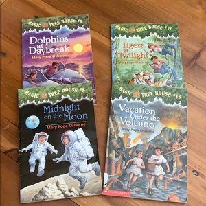 Magic Treehouse books (8,9,13,19)